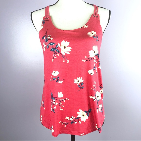 Pink Rose Tops - NEW Pink Rose Women Size Small Fushia Floral Tank